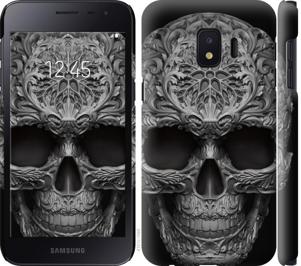 Чехол на Samsung Galaxy J2 Core skull-ornament