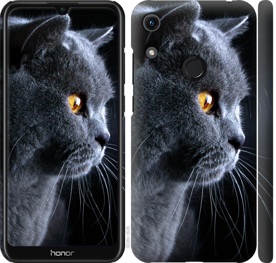Чехол на Huawei Honor 8A Красивый кот