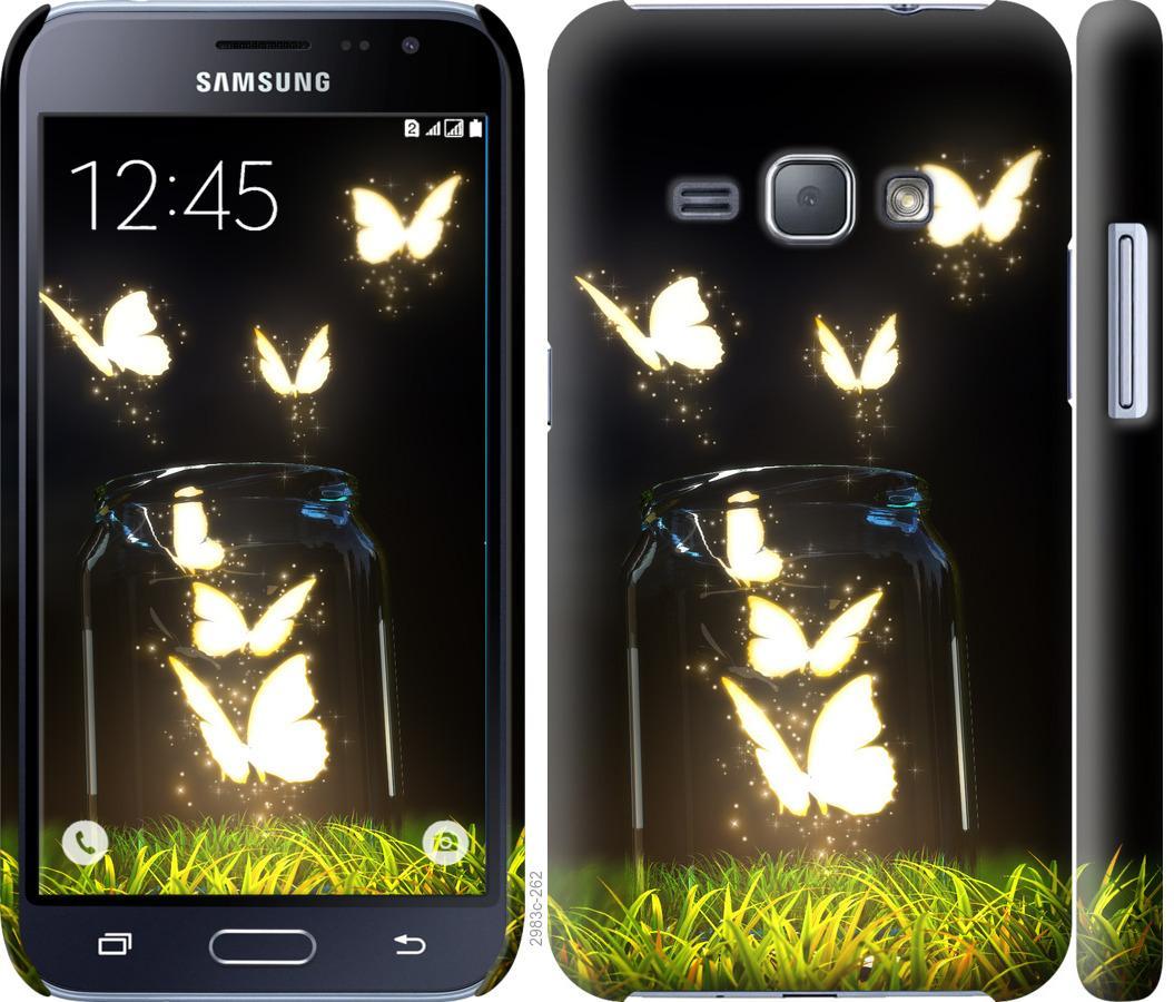 Чехол на Samsung Galaxy J1 (2016) Duos J120H Бабочки