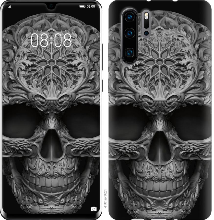 Чехол на Huawei Nova 6SE skull-ornament