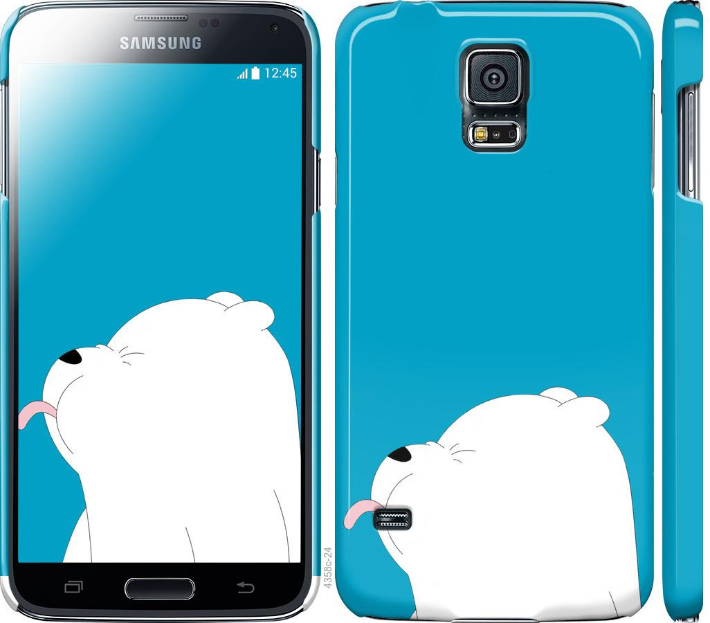 Чехол на Samsung Galaxy S5 g900h Мишка 1