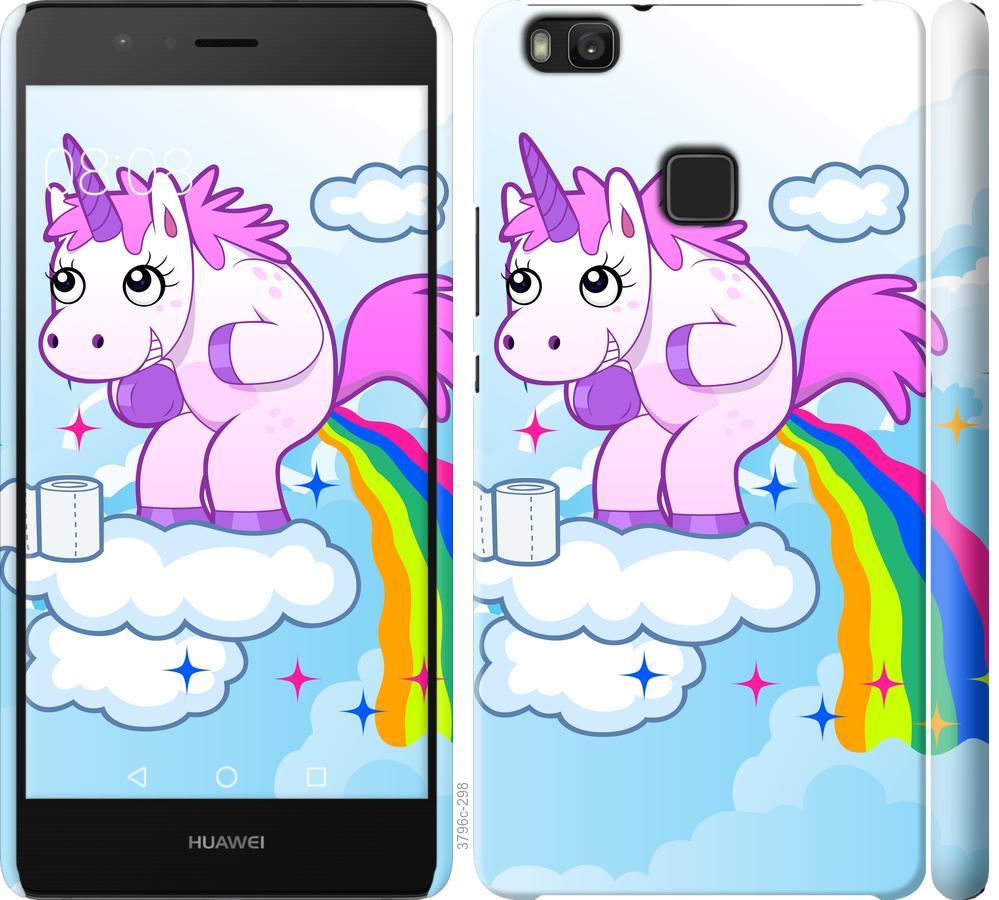 Чехол на Huawei P9 Lite Единорожка