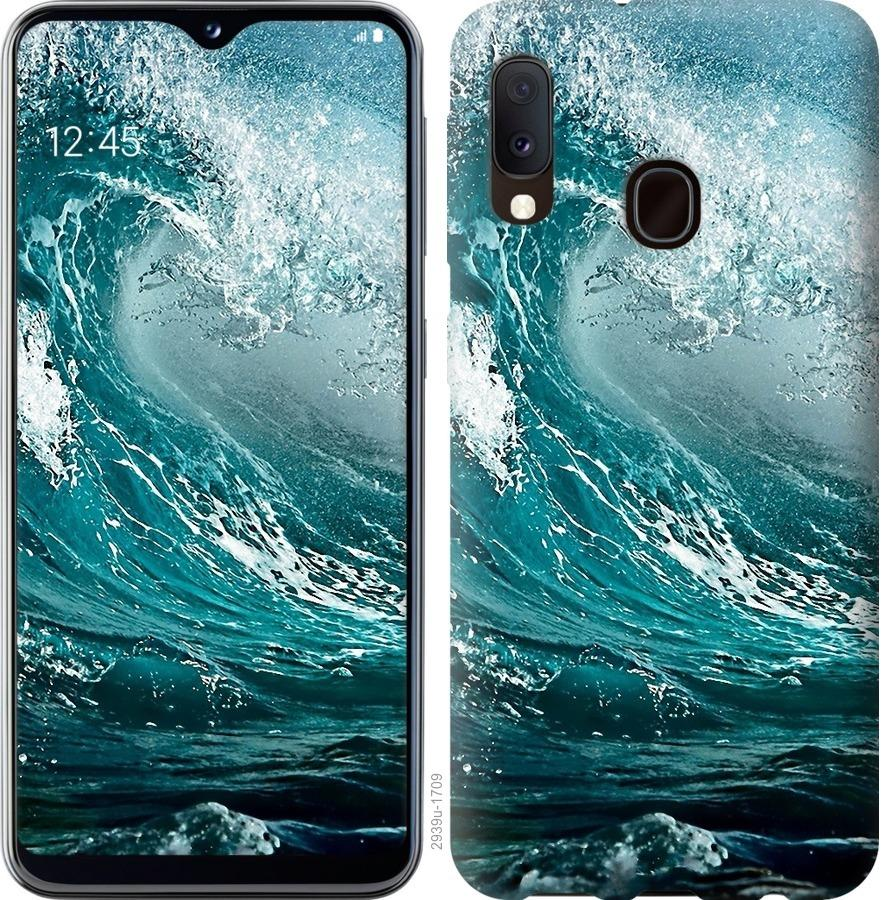 Чохол на Samsung Galaxy A20e A202F Морська хвиля