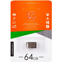 Флеш-драйв USB Flash Drive T&G 105 Metal Series 64GB