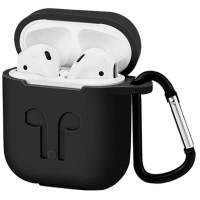 Силіконовий футляр для навушників AirPods wireless + strap 2in1