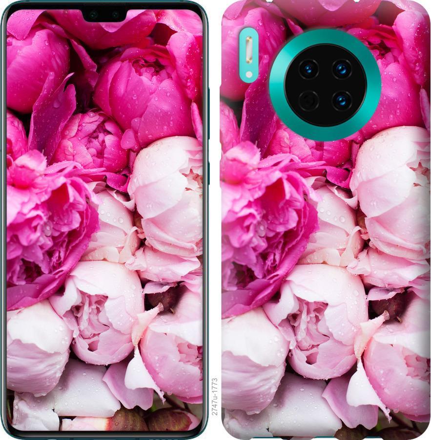 Чехол на Huawei Mate 30 Розовые пионы