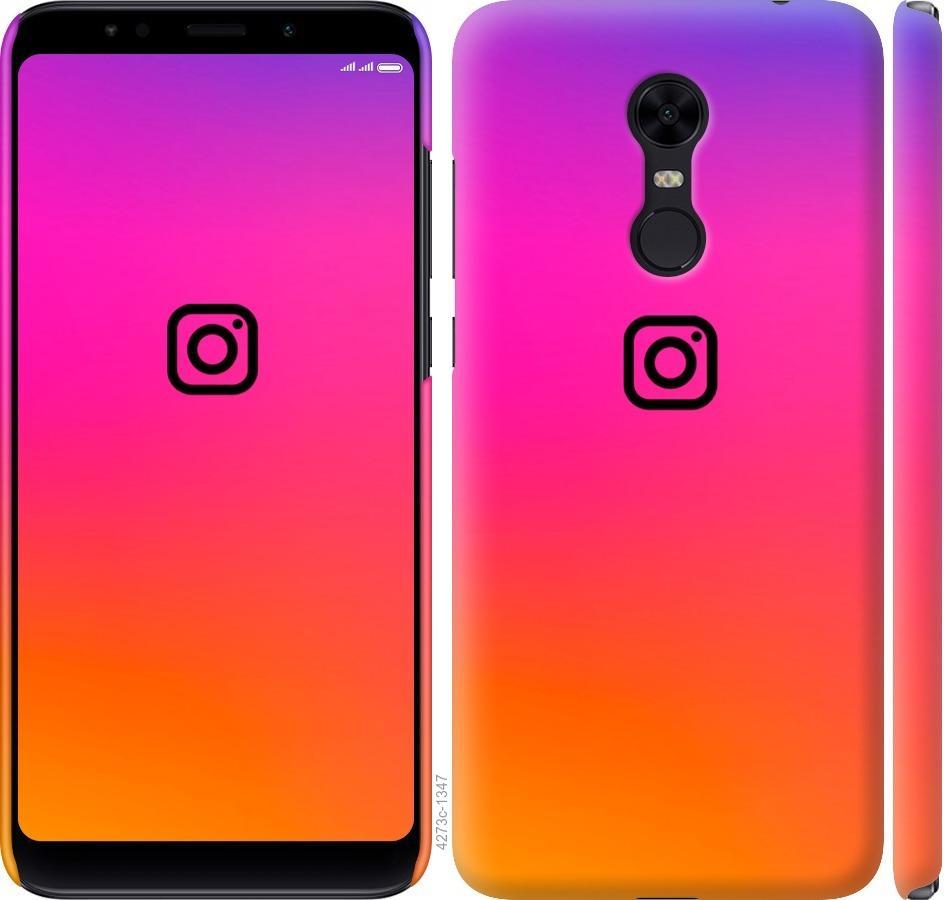 Чехол на Xiaomi Redmi 5 Plus Instagram