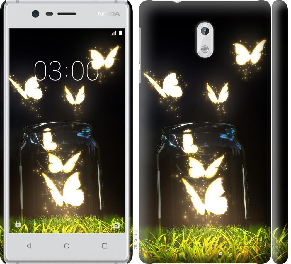 Чехол на Nokia 3 Бабочки