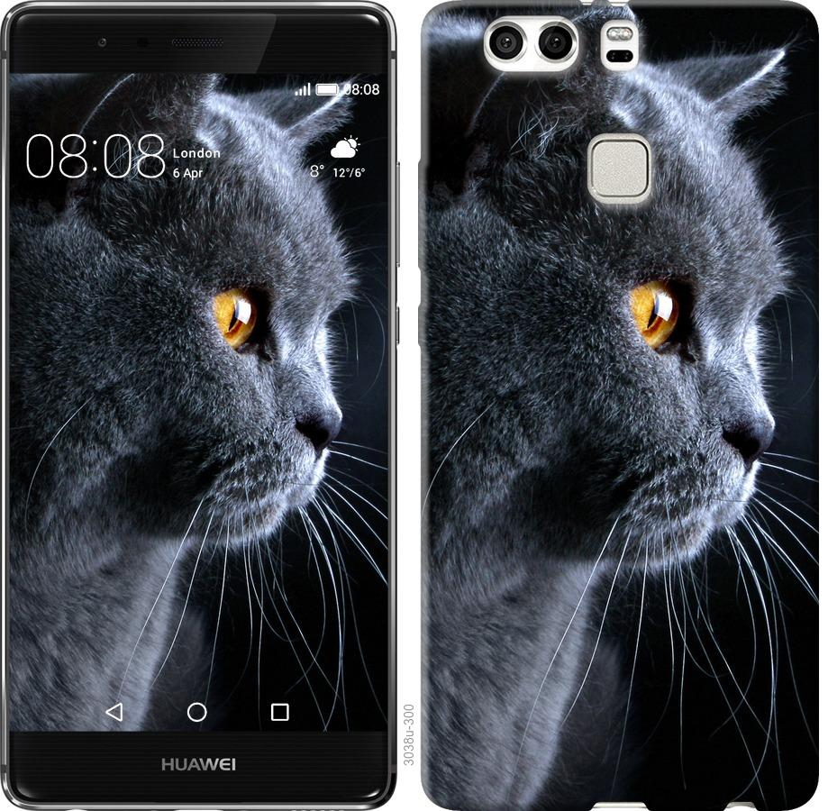Чехол на Huawei P9 Plus Красивый кот