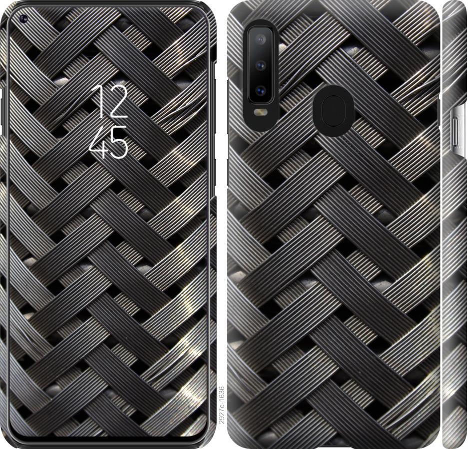Чехол на Samsung Galaxy A8S Металлические фоны