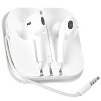 Гарнитура для Apple iPhone с регулировкой громкости, 3.5mm  (box)