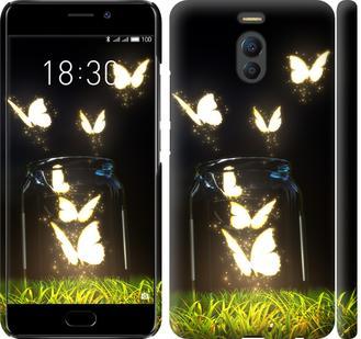 Чехол на Meizu M6 Note Бабочки