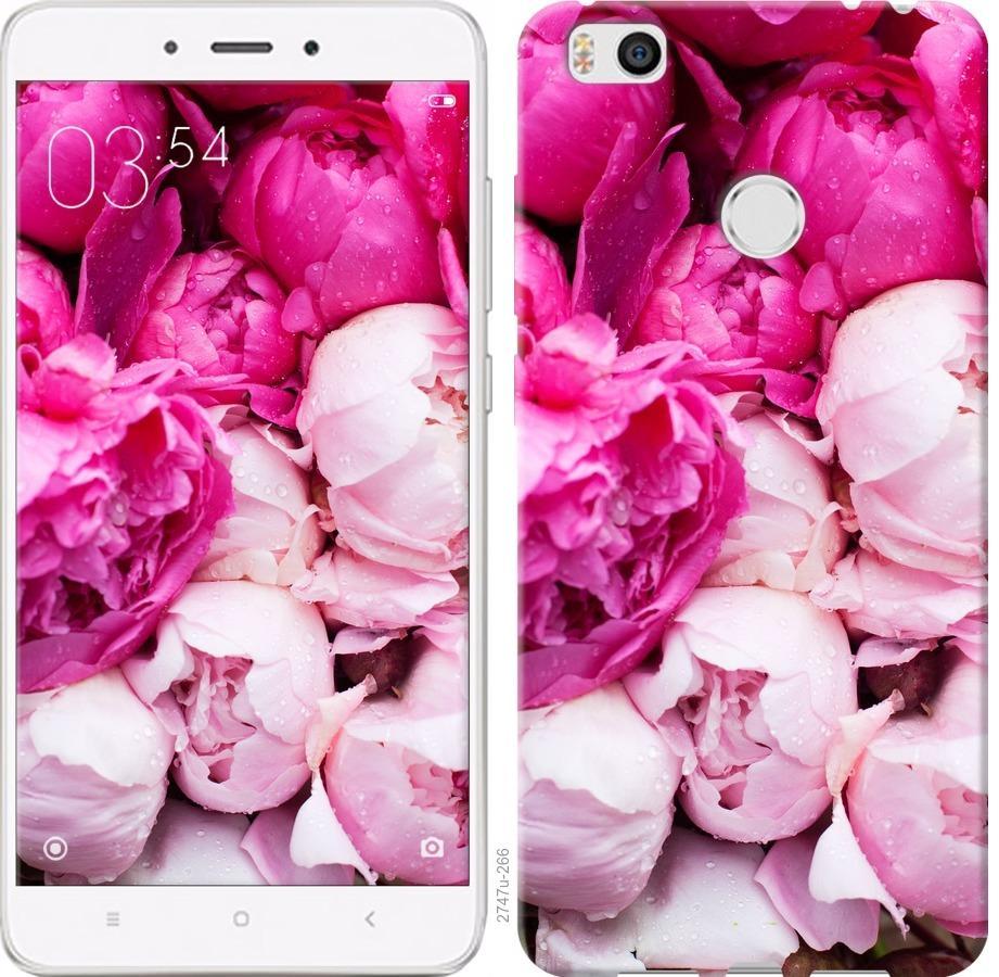 Чехол на Xiaomi Mi4s Розовые пионы