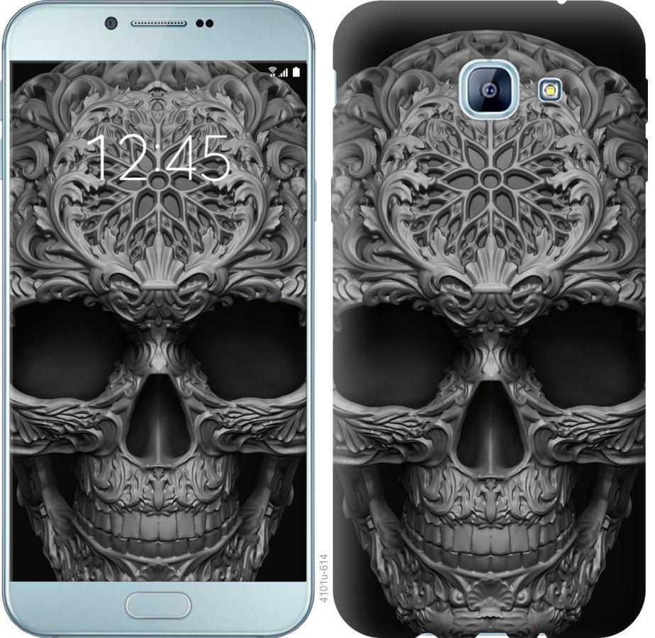 Чехол на Samsung Galaxy A8 (2016) A810 skull-ornament