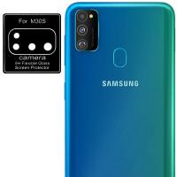 Гибкое защитное стекло 0.18mm на камеру (тех.пак) для Samsung Galaxy M21