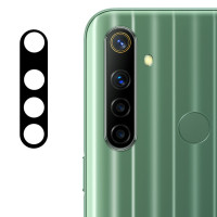 Гибкое защитное стекло 0.18mm на камеру (тех.пак) для Realme 6i