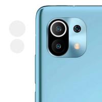 Гибкое защитное стекло 0.18mm на камеру (тех.пак) для Xiaomi Mi 11 Lite