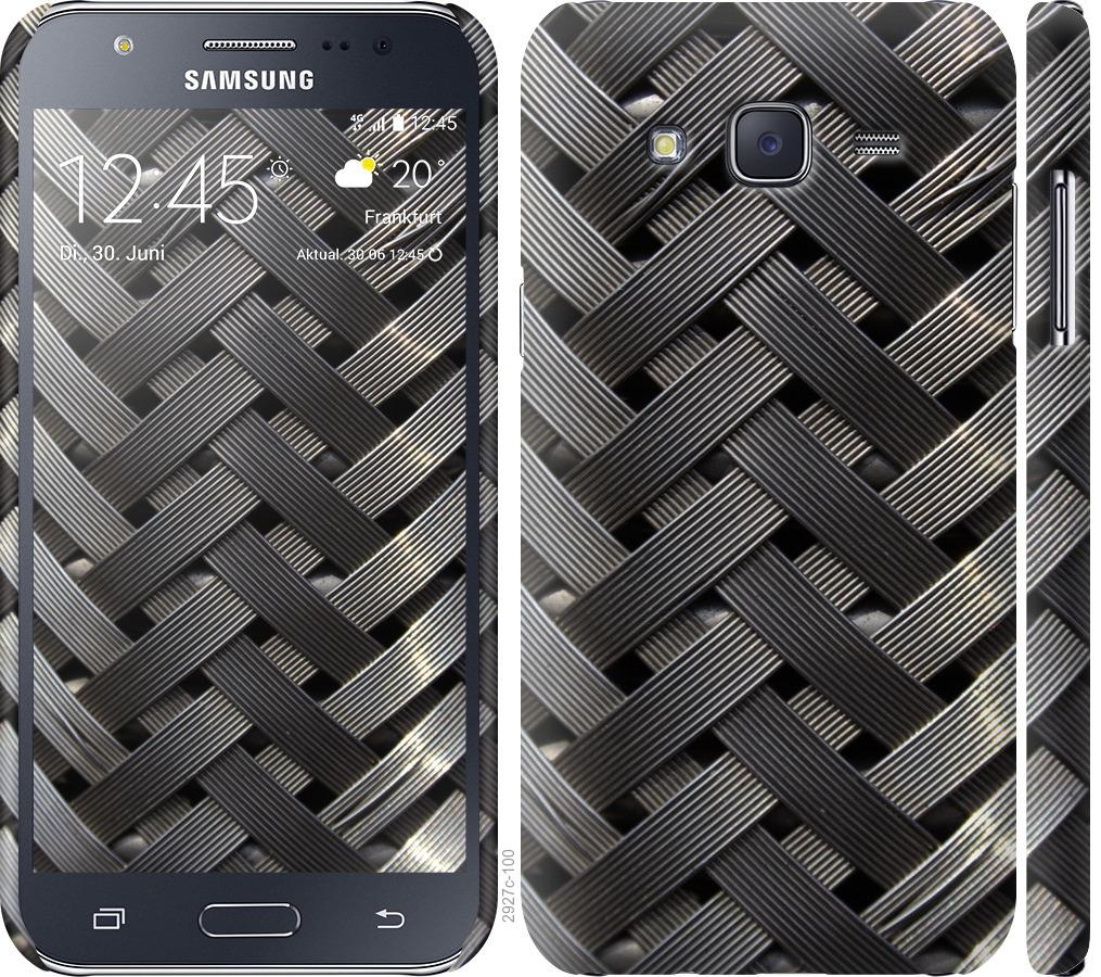 Чехол на Samsung Galaxy J5 (2015) J500H Металлические фоны