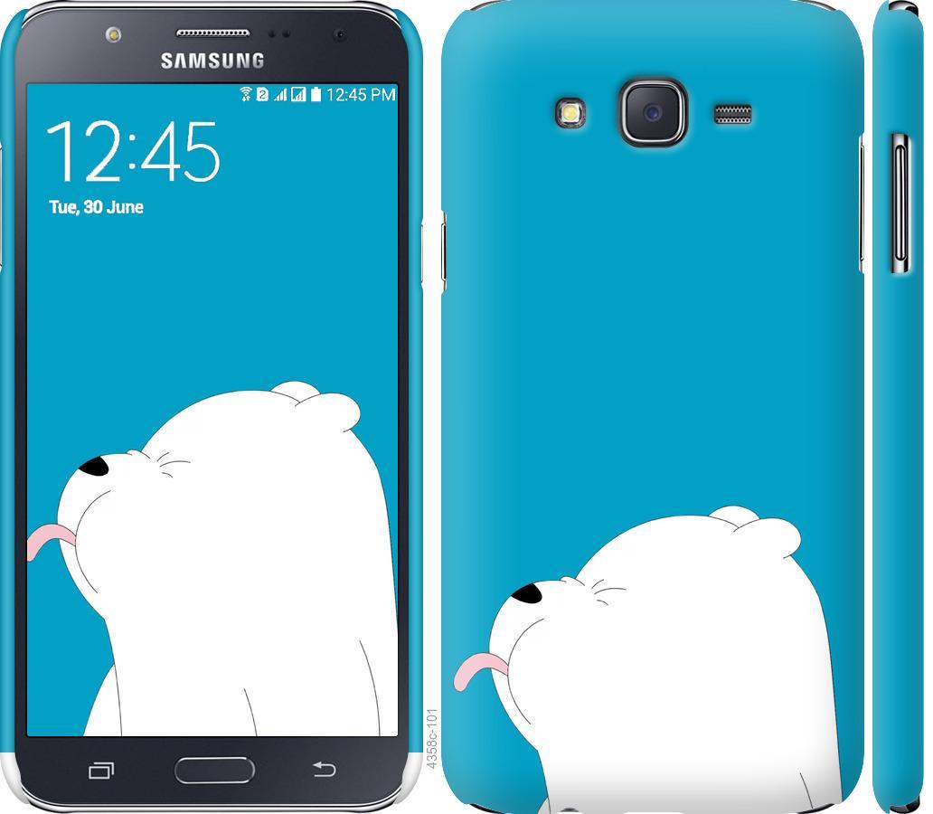 Чехол на Samsung Galaxy J7 J700H Мишка 1