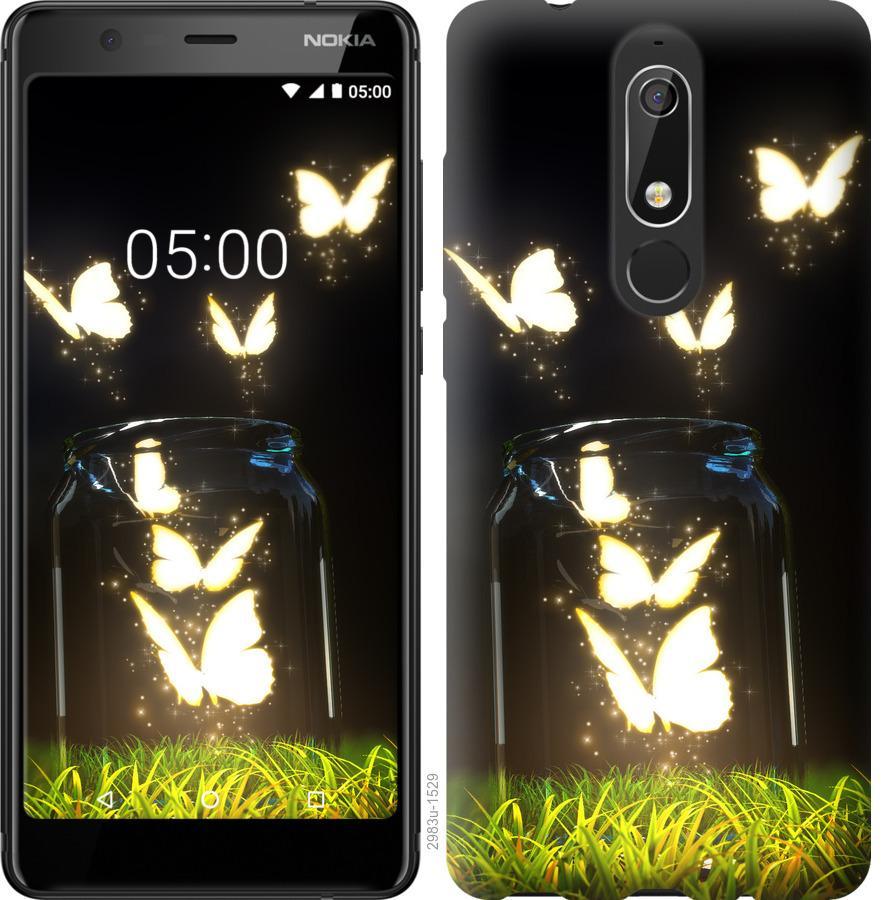 Чехол на Nokia 5.1 Бабочки