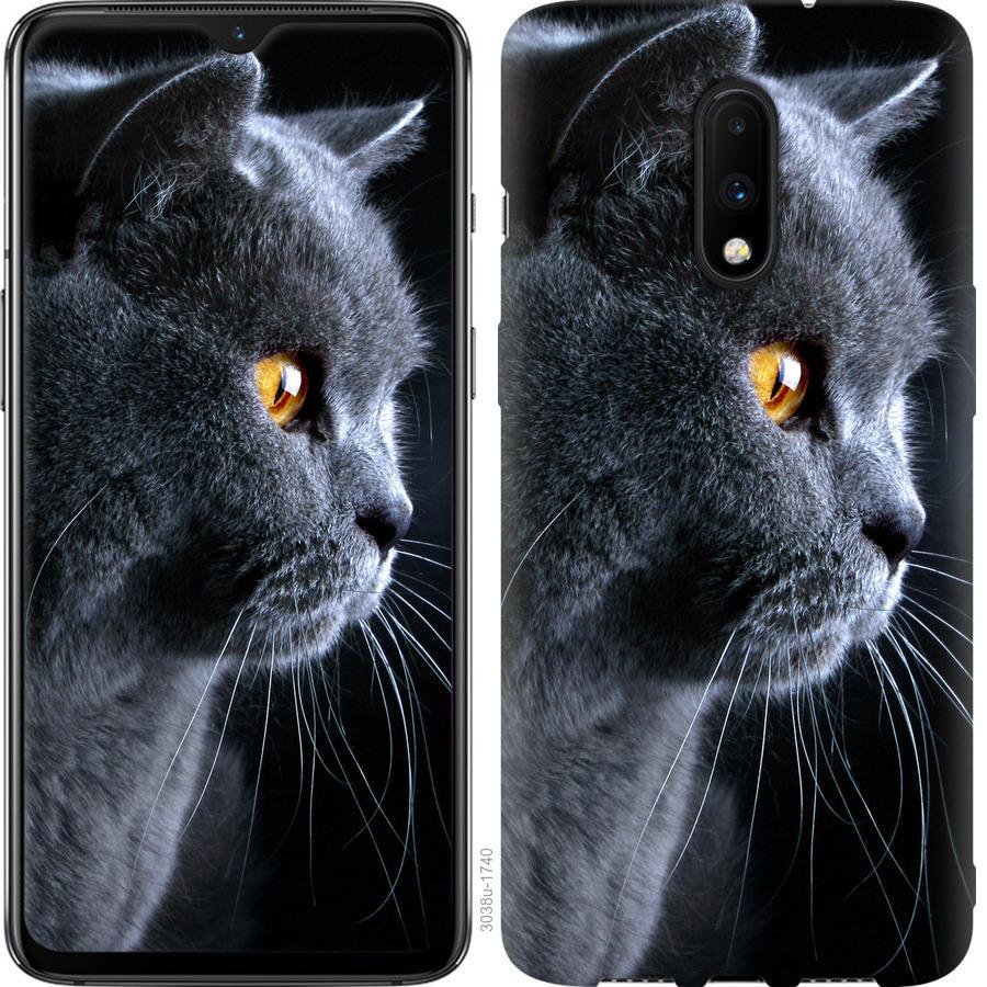 Чехол на OnePlus 7 Красивый кот