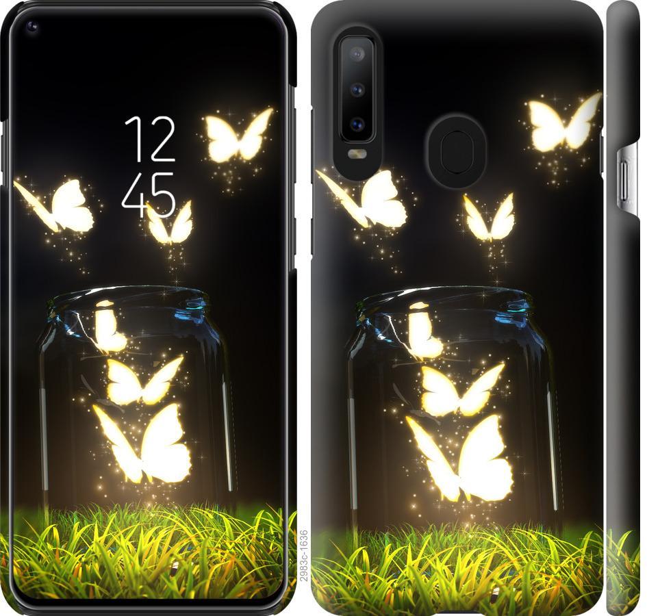 Чехол на Samsung Galaxy A8S Бабочки