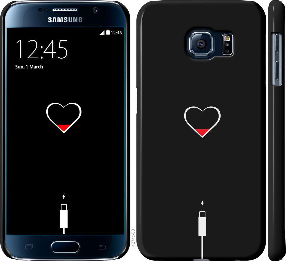 Чохол на Samsung Galaxy S6 G920  Підзарядка