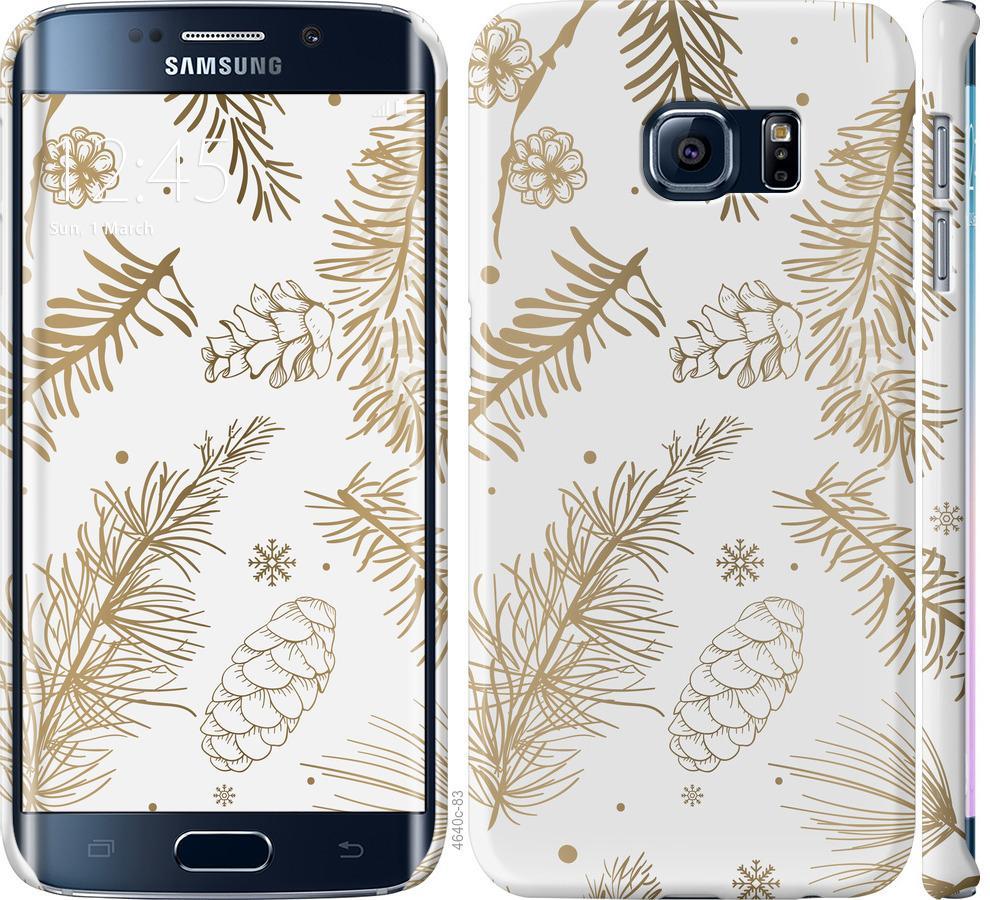 Чехол на Samsung Galaxy S6 Edge G925F Зимний