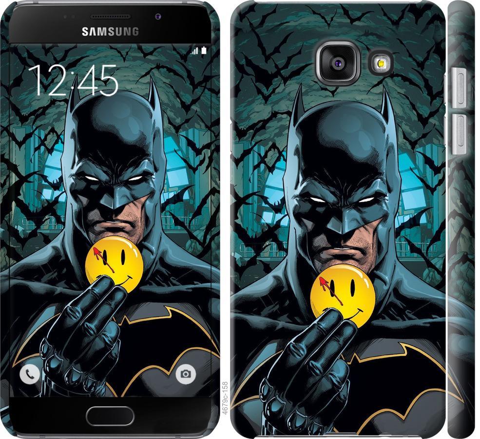Чехол на Samsung Galaxy A5 (2016) A510F Бэтмен 2