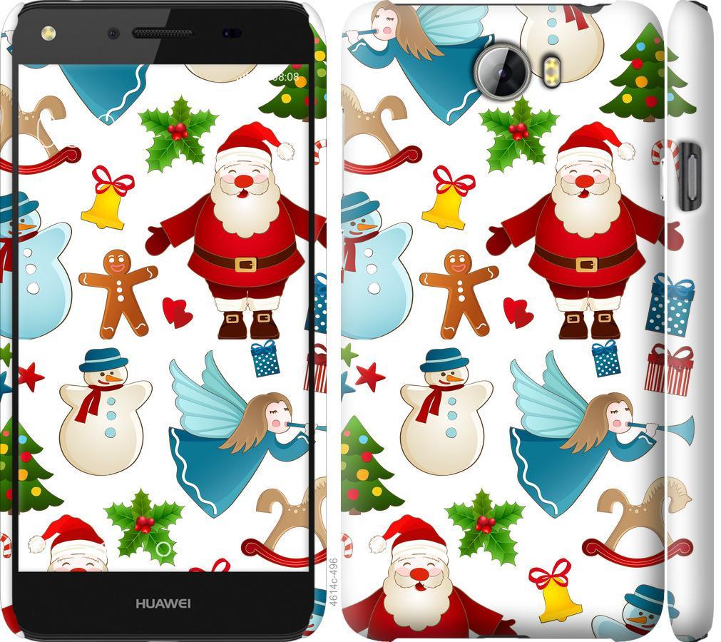 Чехол на Huawei Y5 II Новогодний 1