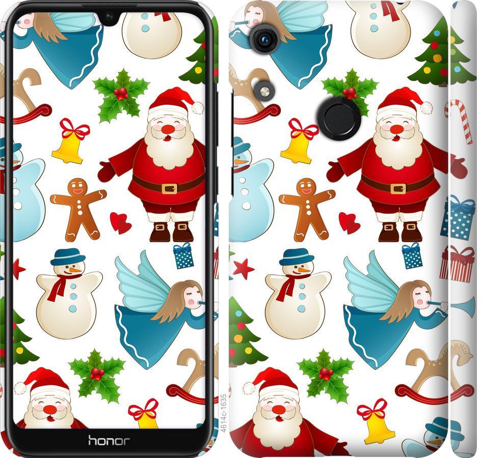 Чехол на Huawei Honor 8A Новогодний 1