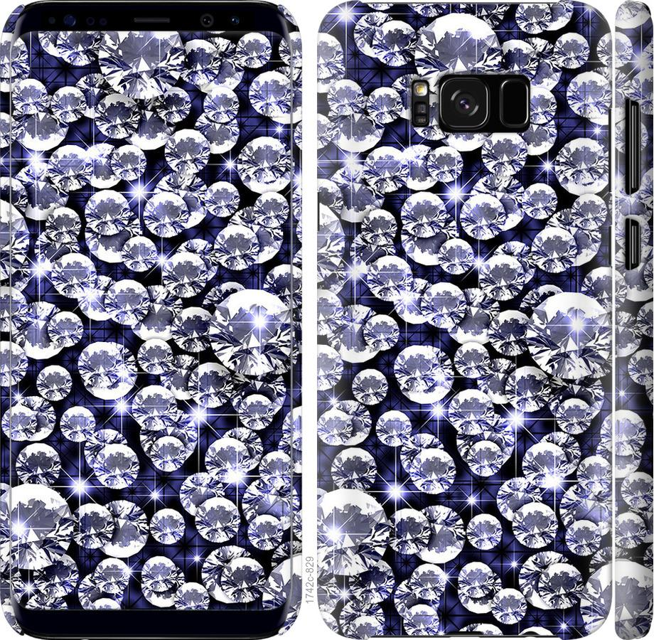 Чехол на Samsung Galaxy S8 бриллиант