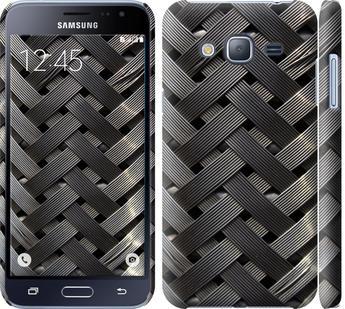 Чехол на Samsung Galaxy J3 Duos (2016) J320H Металлические фоны