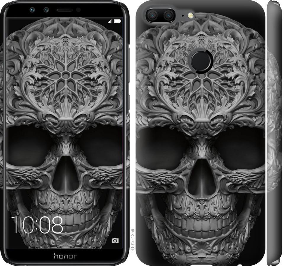 Чехол на Huawei Honor 9 Lite skull-ornament
