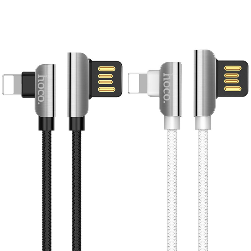 Дата кабель Hoco U42 Exquisite Steel Lightning cable (1.2m)