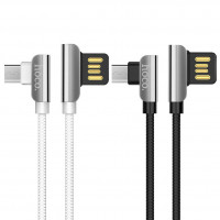 Дата кабель Hoco U42 Exquisite Steel Micro USB Cable (1.2m)