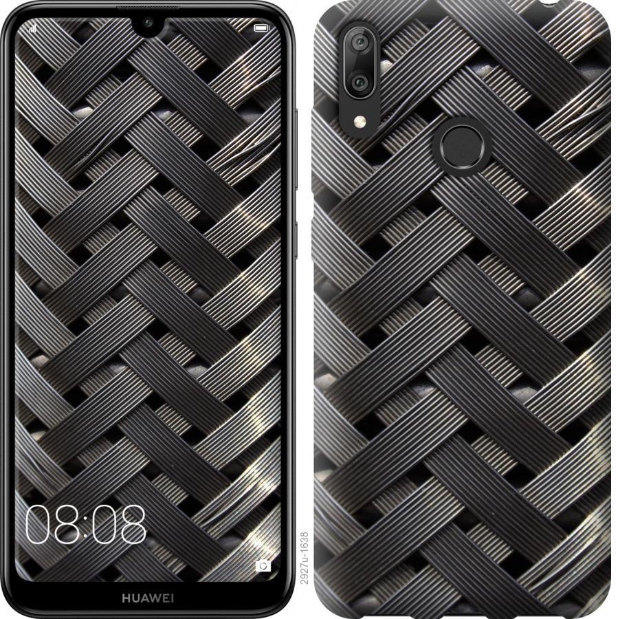 Чехол на Huawei Y7 2019 Металлические фоны