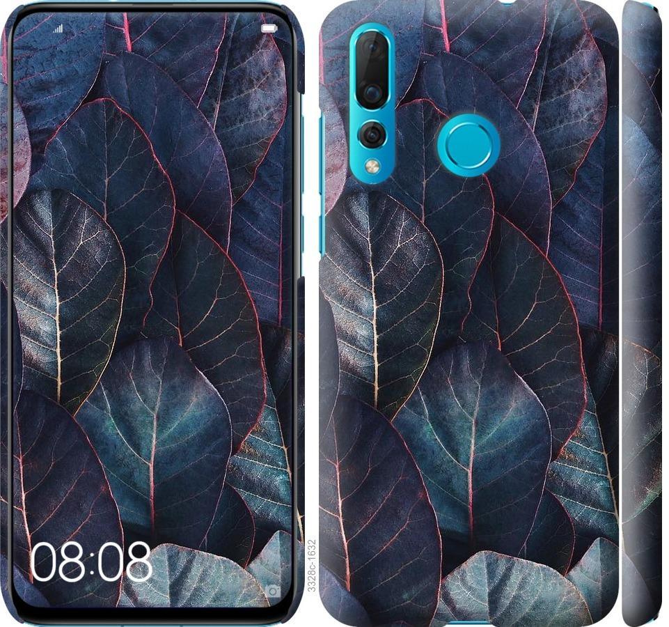 Чехол на Huawei Nova 4 Листья v3