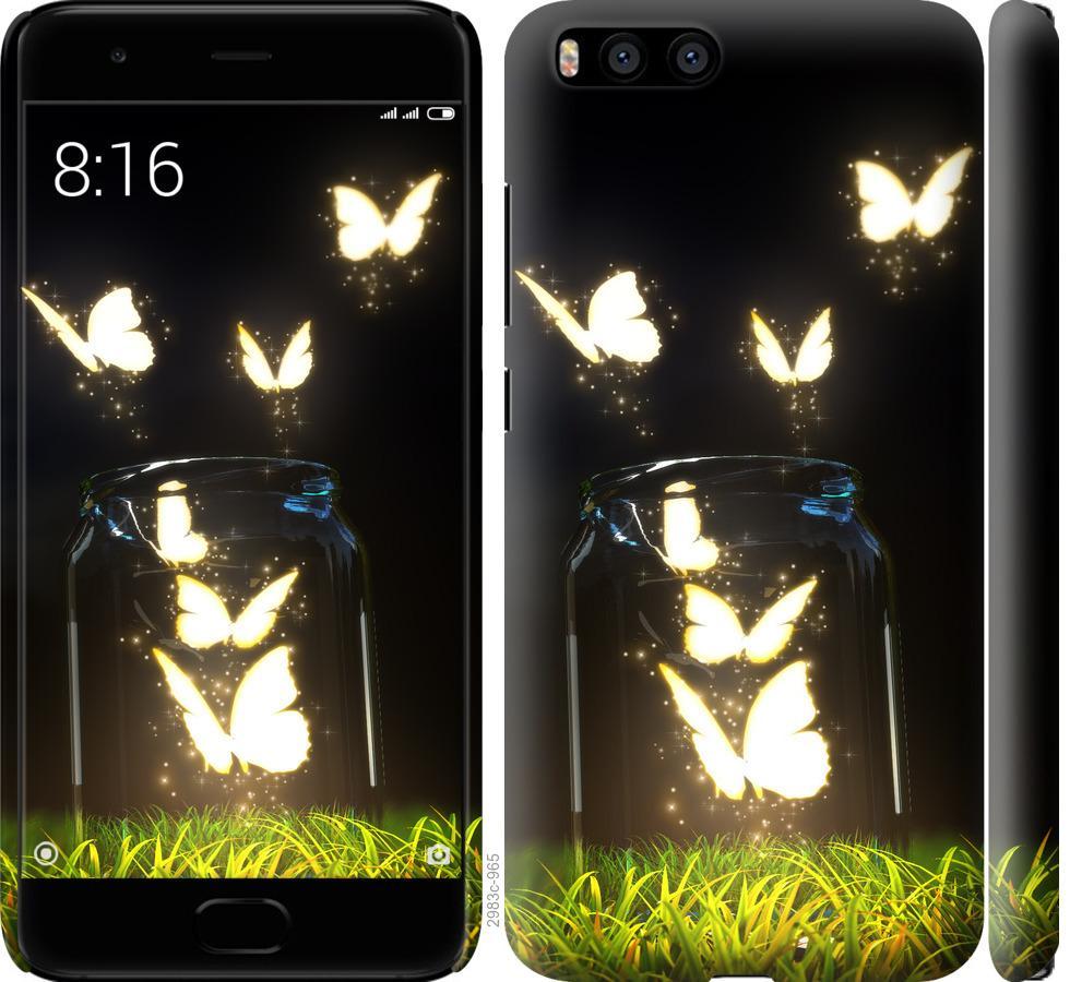 Чехол на Xiaomi Mi6 Бабочки