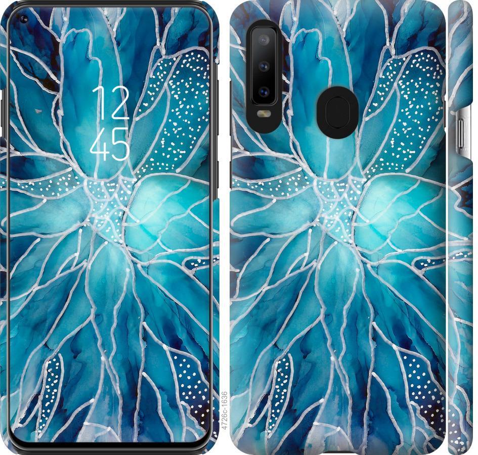 Чехол на Samsung Galaxy A8S чернило