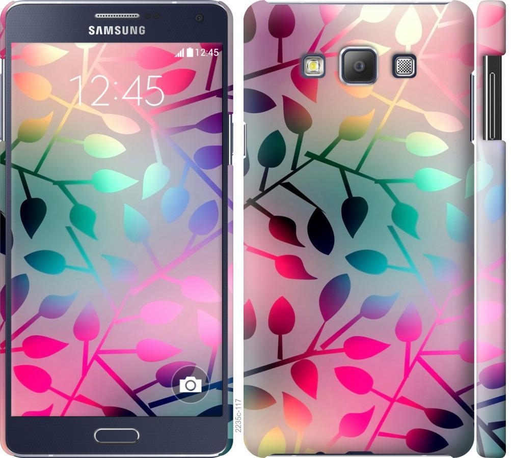 Чехол на Samsung Galaxy A7 A700H Листья