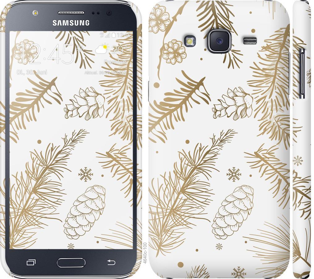 Чехол на Samsung Galaxy J5 (2015) J500H Зимний