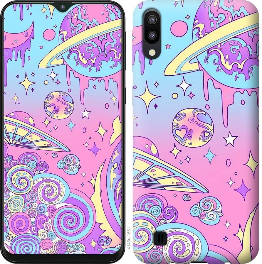 Чехол на Samsung Galaxy A2 Core A260F Розовая галактика