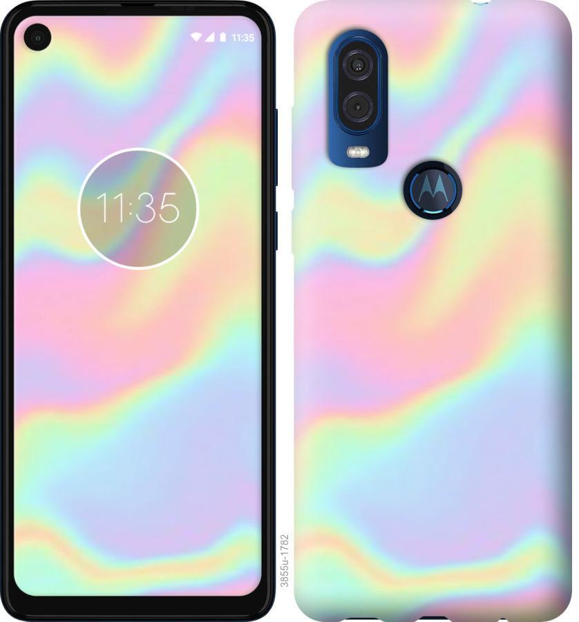 Чехол на Motorola One Vision пастель