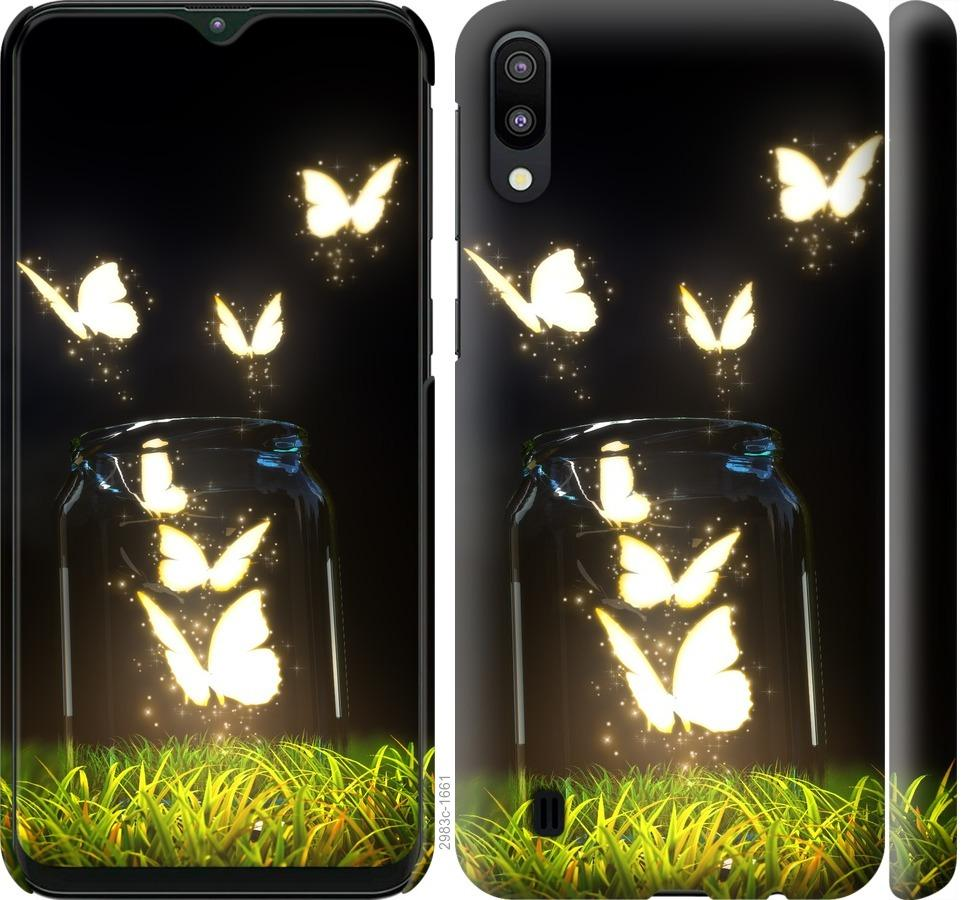 Чехол на Samsung Galaxy M10 Бабочки