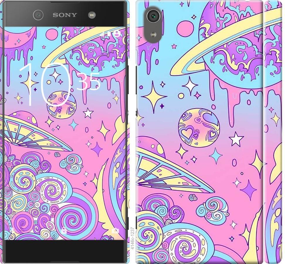 Чохол на Sony Xperia XA1 Ultra G3212 Рожева галактика