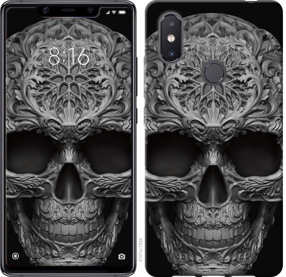 Чехол на Xiaomi Mi8 SE skull-ornament