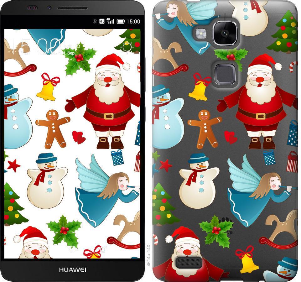 Чехол на Huawei Ascend Mate 7 Новогодний 1