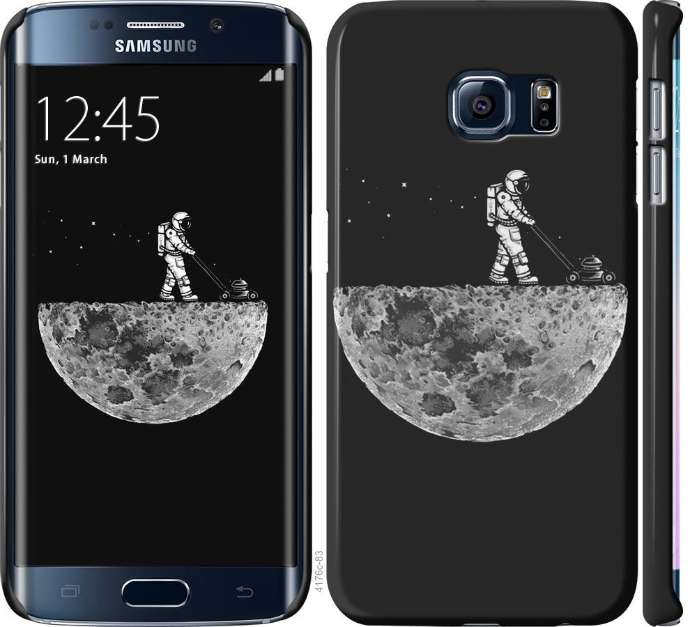 Чехол на Samsung Galaxy S6 Edge G925F Moon in dark