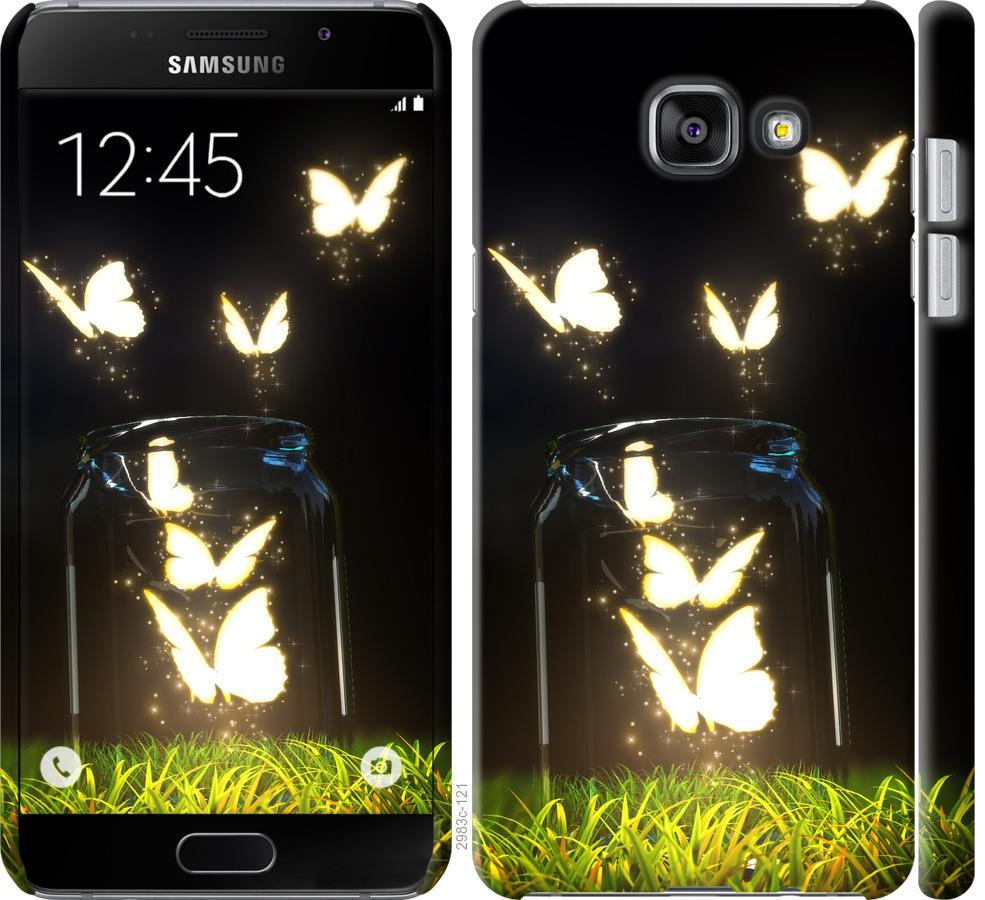 Чехол на Samsung Galaxy A7 (2016) A710F Бабочки